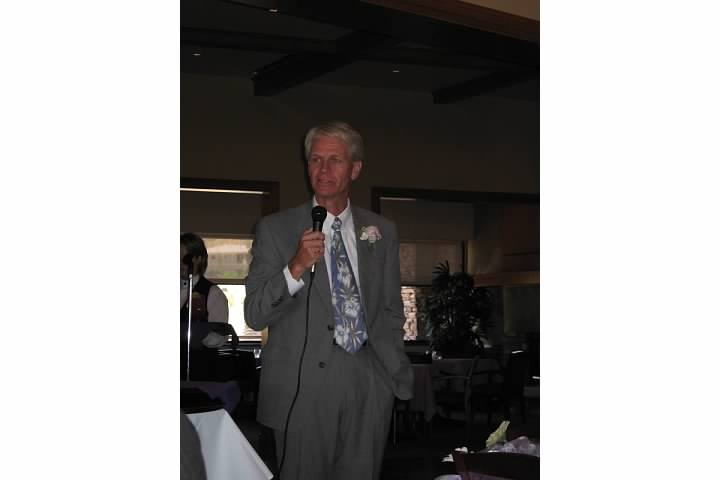 Dad at my sister's wedding a decade ago